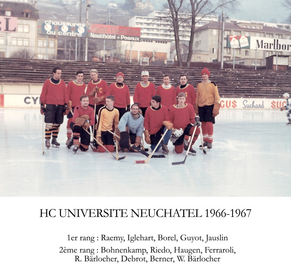HC Université Neuchâtel 1966-1967